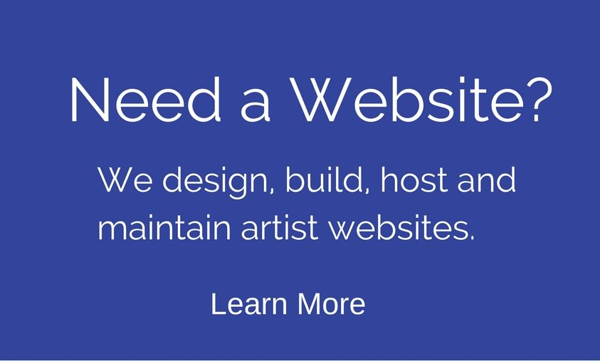 We Create Websites for Artists