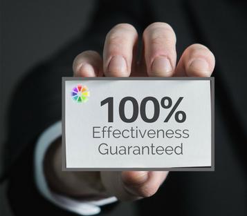 100% Effectiveness Guaranteed