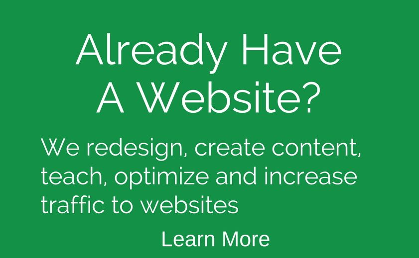 We improve, optimize, redesign and increase traffic