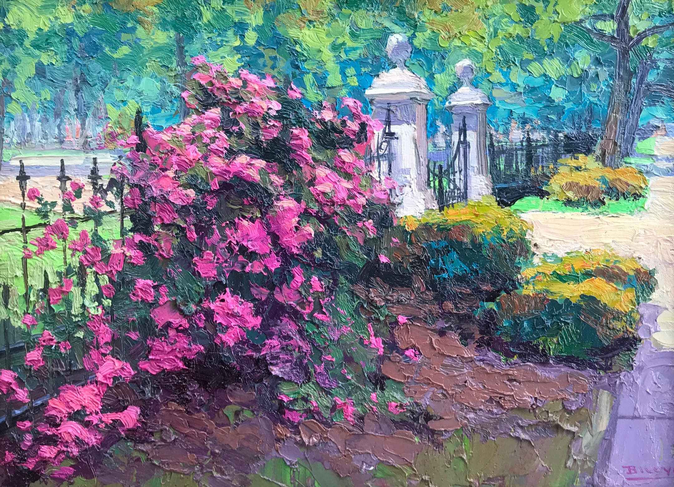 Roses Lafayette Square by Billyo ODonnell