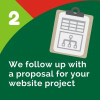 Step 2 - Website Proposal
